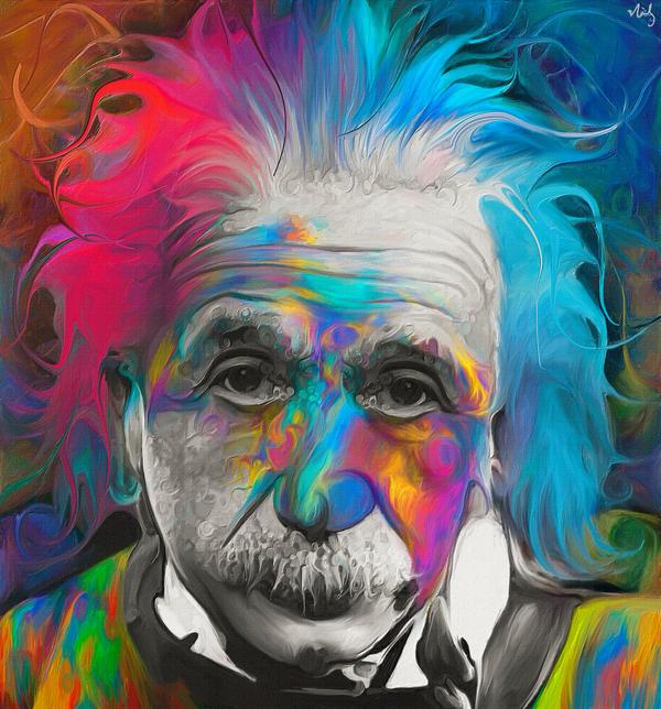 Albert Einstein By NickyBarkla On DeviantArt