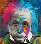 Albert Einstein by NickyBarkla
