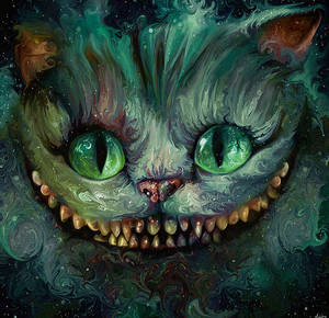 We're All Mad Here - The Cheshire Cat