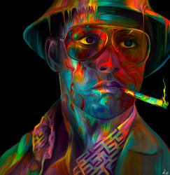 Raoul Duke - Johnny Depp