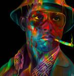 Raoul Duke - Johnny Depp by NickyBarkla