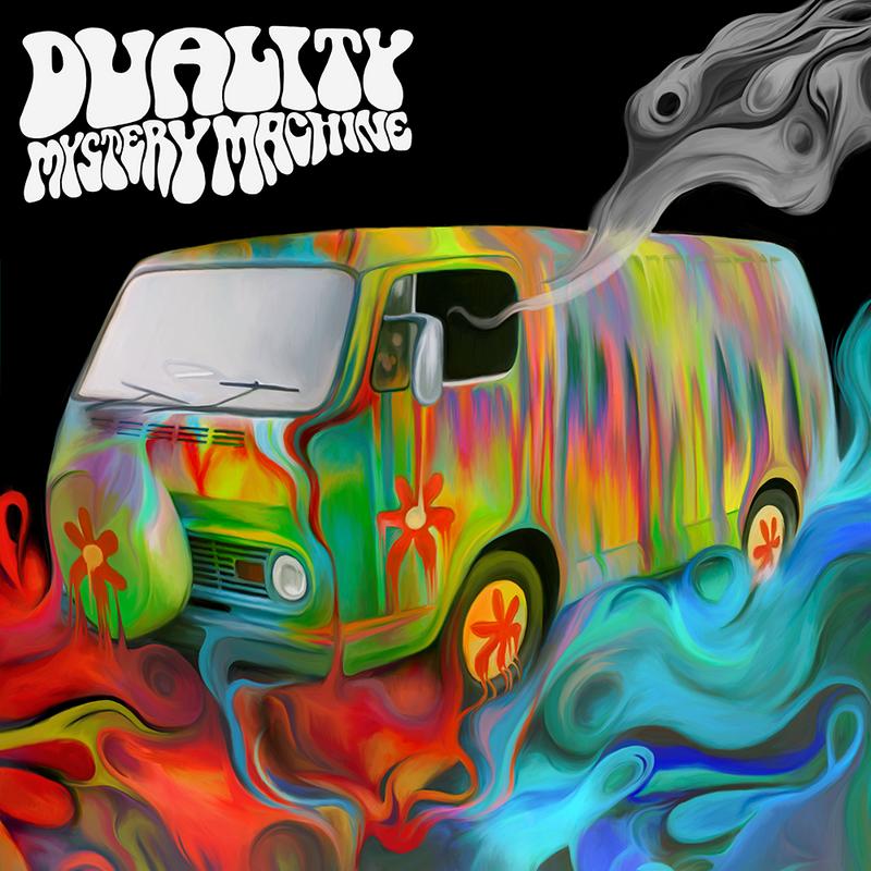 Duality - Mystery Machine album cover by NickyBarkla