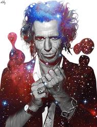 Keith Richards by NickyBarkla