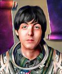 Paul McCartney by NickyBarkla