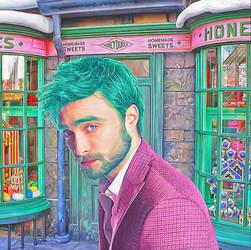 Daniel Radcliffe - Harry Potter by NickyBarkla