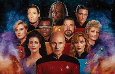 Star Trek - 50th Anniversary by NickyBarkla