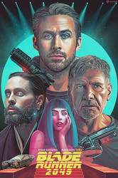 Blade Runner 2049 Poster for Warner Brothers by NickyBarkla