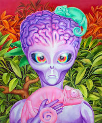 Conflicted Chameleons by NickyBarkla