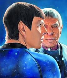 Spock | Star Trek by NickyBarkla