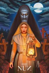 'The Nun' Poster by NickyBarkla