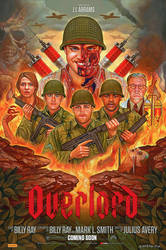 'Overlord' Illustrated Poster by NickyBarkla