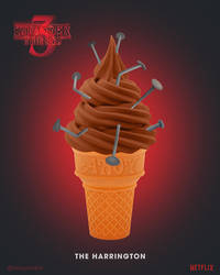 Stranger Things 3 | The Harrington Ice Cream by NickyBarkla