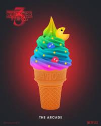 Stranger Things 3 | The Arcade Ice Cream by NickyBarkla
