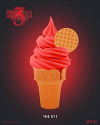 Stranger Things 3 | The 011 Ice Cream by NickyBarkla
