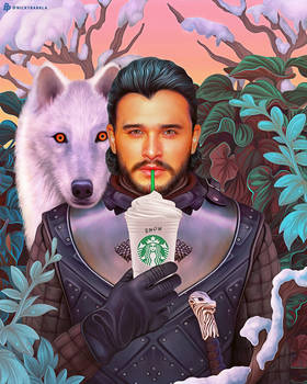 Jon Snow | Game of Thrones X Starbucks
