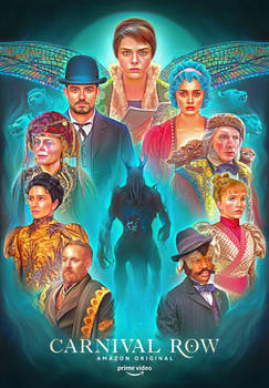 'Carnival Row' Illustrated Poster