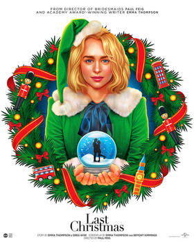 'Last Christmas' Illustrated Poster