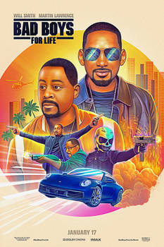 'Bad Boys for Life' Illustrated Poster