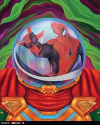 'Spider-Man: Far From Home' Official Steelbook Art
