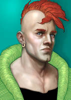 Dragon Ball Z - Android 16 by DennyKotian
