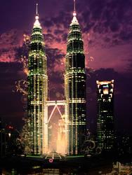 Petronas Tower by C-Fisha