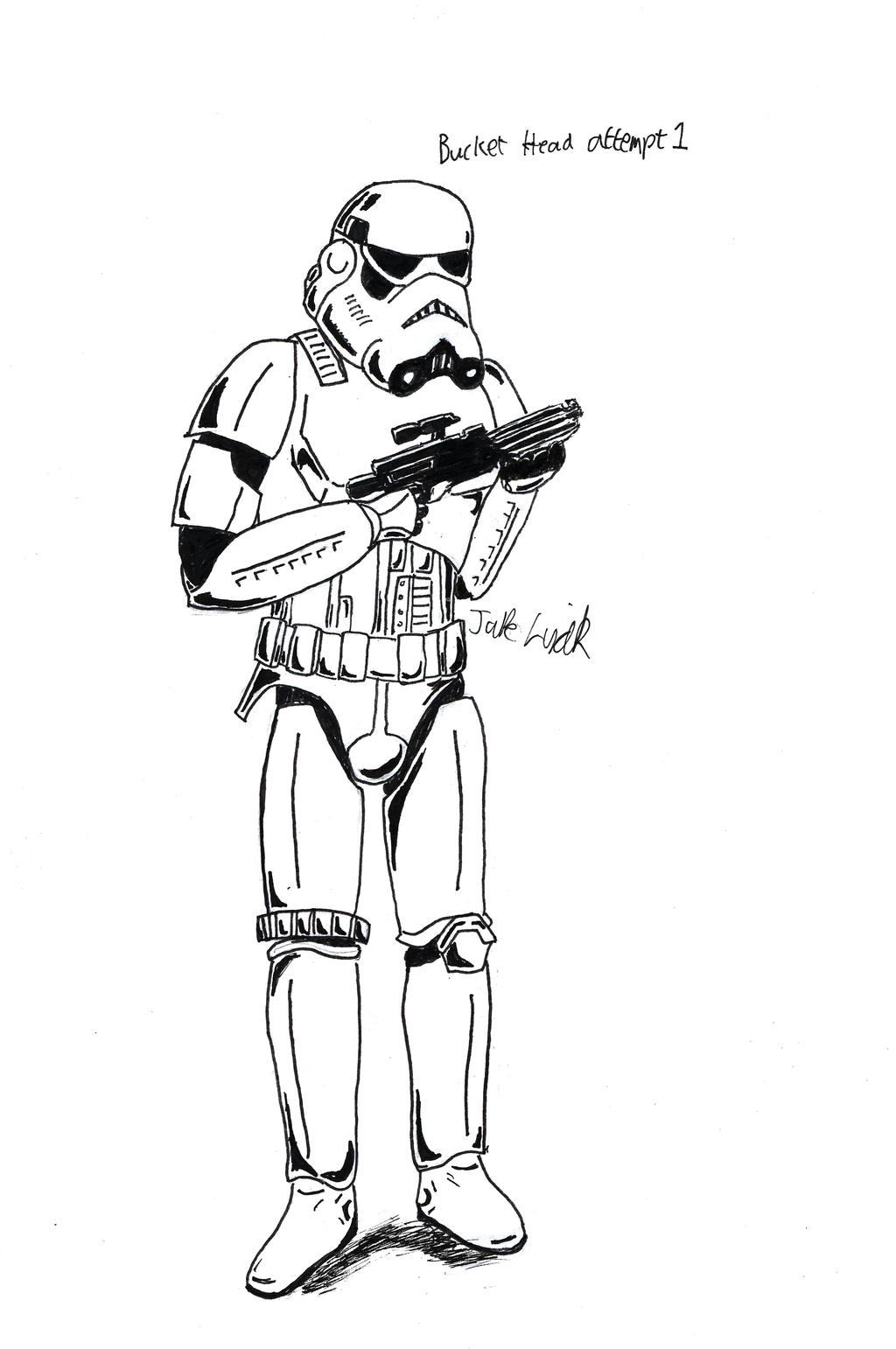 Imperial Stormtrooper Coloring Coloring Pages