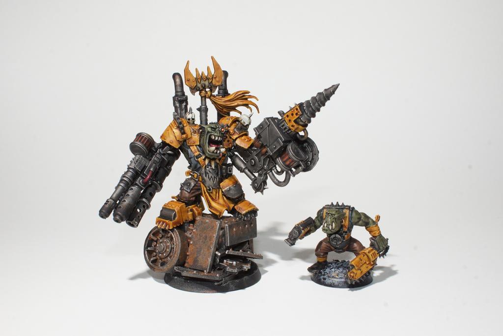 Bad Moonz Ork Warboss 3 by ManufacturerOfWar