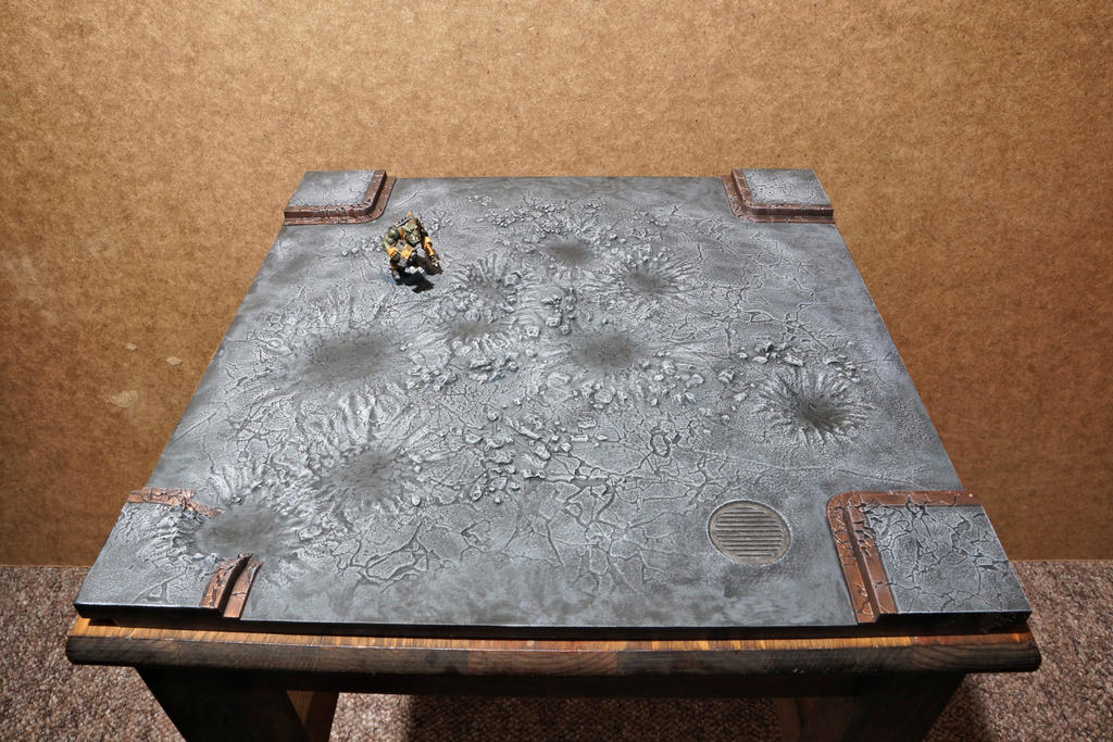 Ork tile base by ManufacturerOfWar