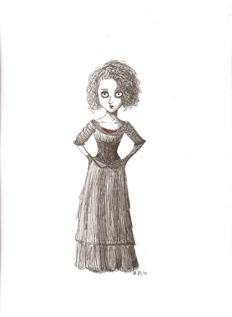 Mrs Lovett by TheAwesomeFaerie