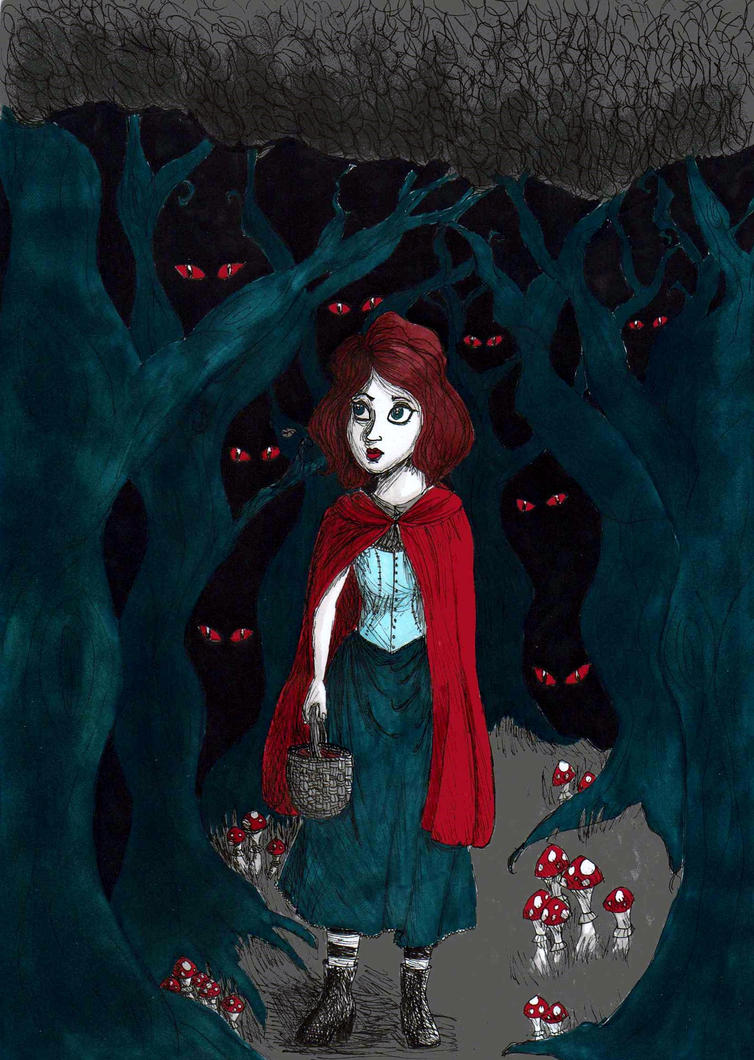 Red Riding Hood by TheAwesomeFaerie