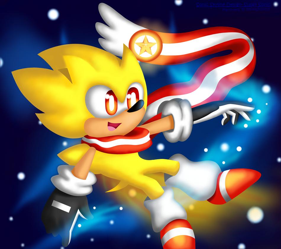Sonic skyline design super sonic by kjdragon70 on deviantart - Super sonic 6 ...