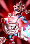 Cuphead and Mugman (Speedpaint Included)