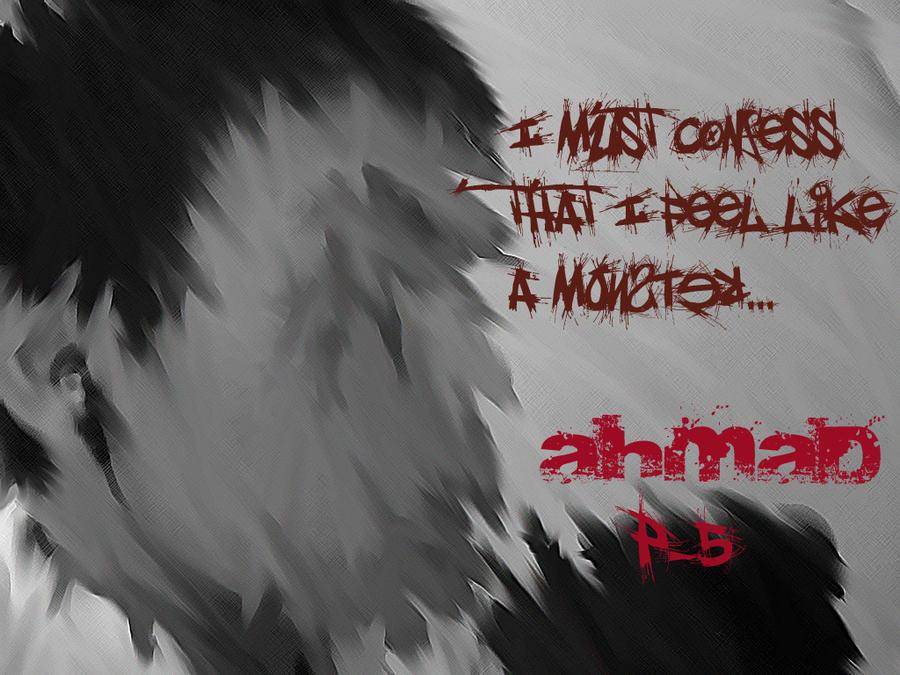 I Feel Like a Monster by Ikantdraw2savemalife on DeviantArt