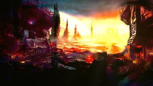 The burning sun - staffprod.all-images.net