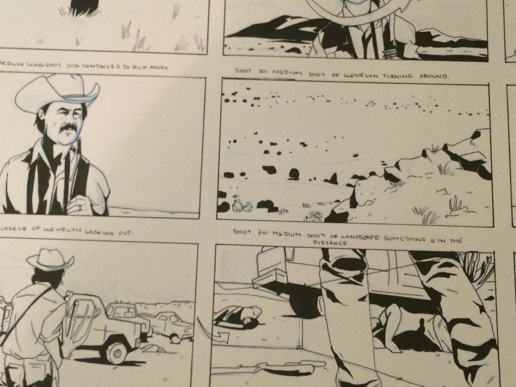 No Country For Old Men Storyboard Practice 2 By Britippettsart On