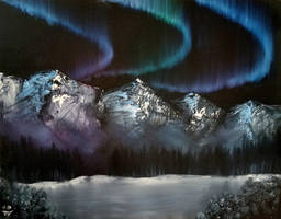 Northern Lights by isabelle-stark