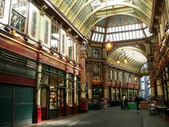 Leadenhall Market London UK by PepstarsWorld