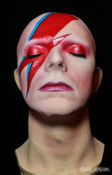 David Bowie Life Mask Commission by Pepstar by PepstarsWorld