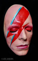 Bowie Life Mask 2 by Pepstar by PepstarsWorld