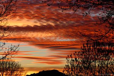 Arizona Sunset by PepstarsWorld