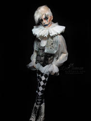 Simply Divine Harlequin BJD by Pepstar by PepstarsWorld