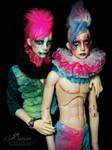 Dollshe Saint and Bernard BJD by Pepstar
