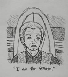 I am the senate! (Palpatine potrait)