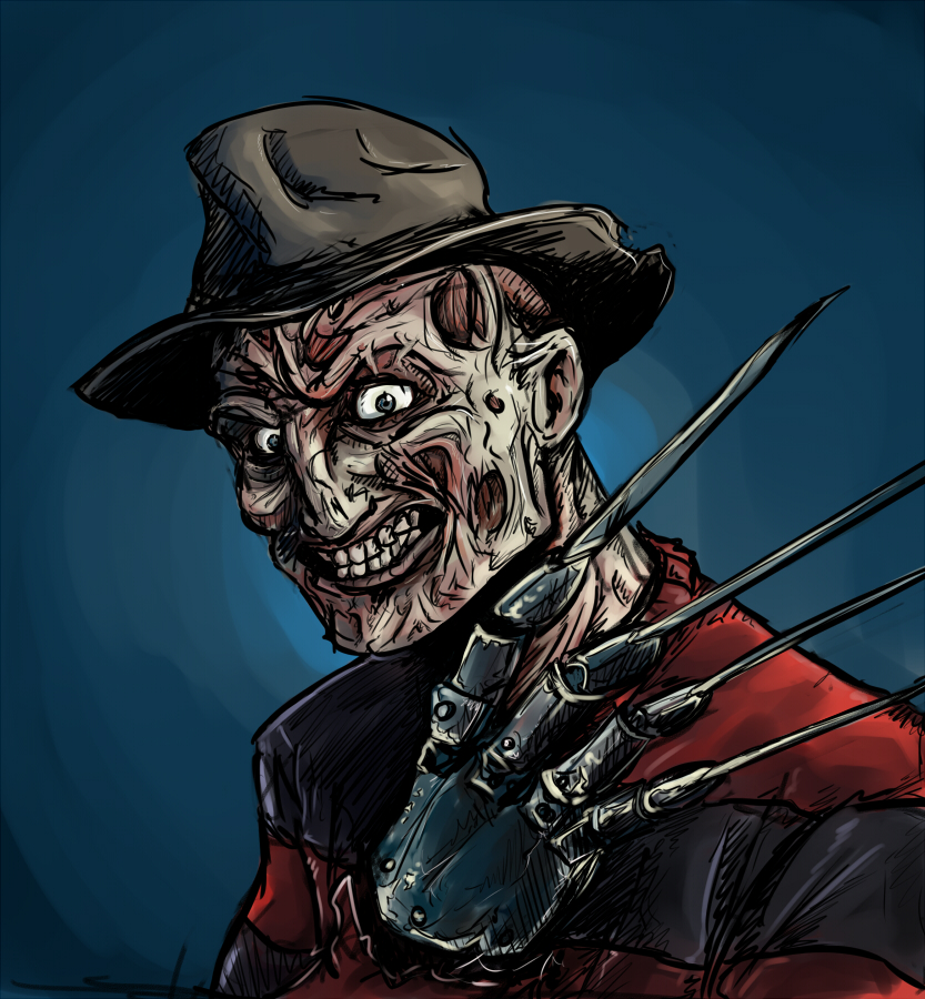 Freddy krueger by kingjder