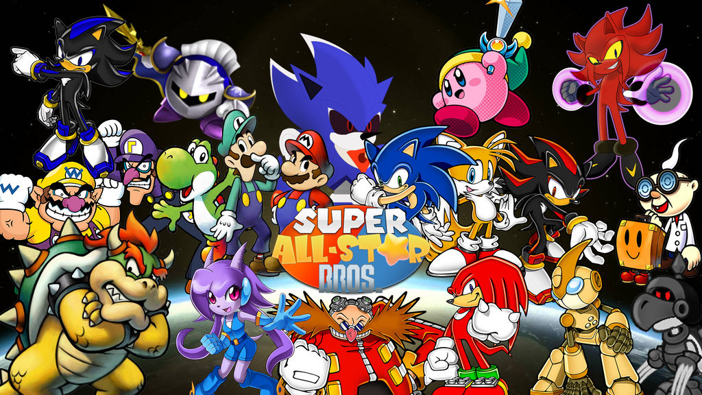 Super All-Star Bros. Titlepicture by SpacePea