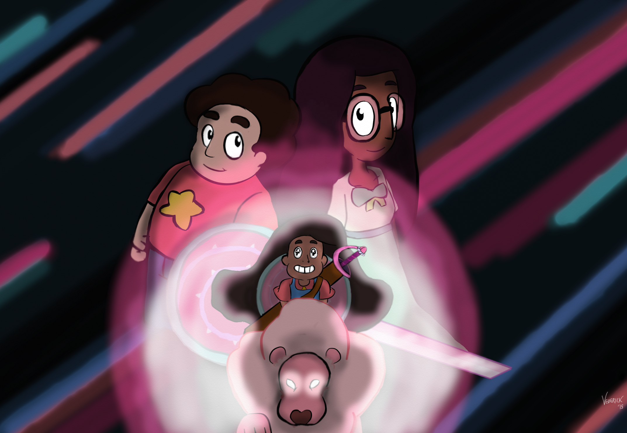 Stevonnie universe by vederick on deviantart