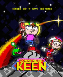 Commander Keen: The Animated Series by Vederick