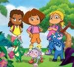 Dora and the Explorers by Vederick