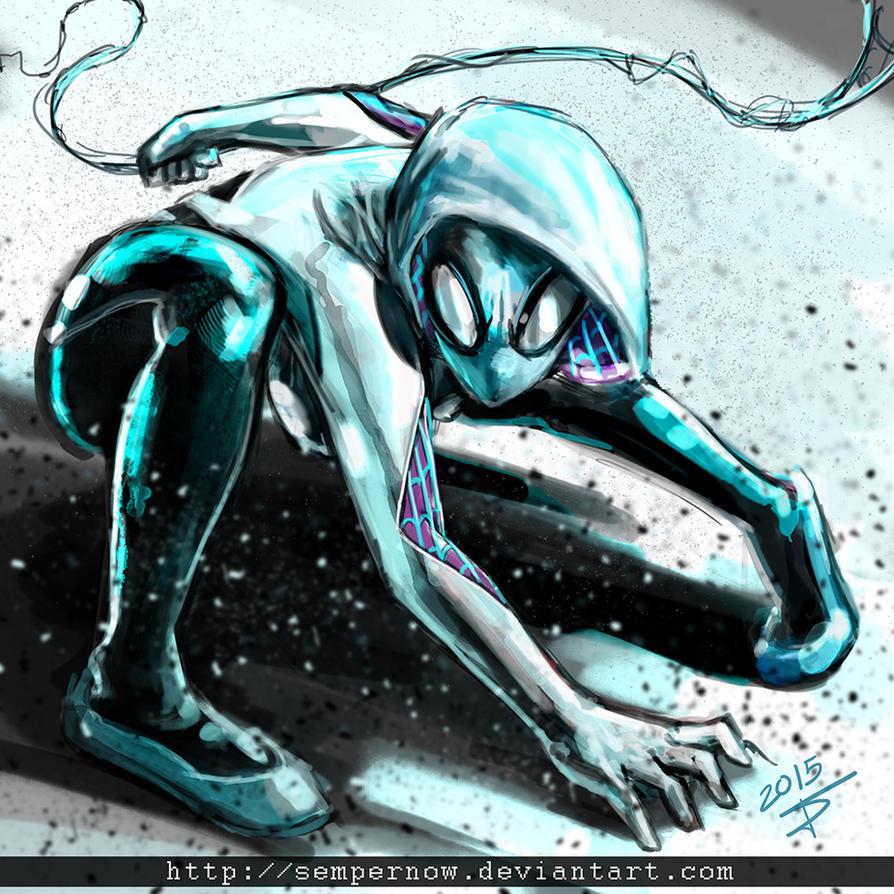 Spider Gwen by sempernow