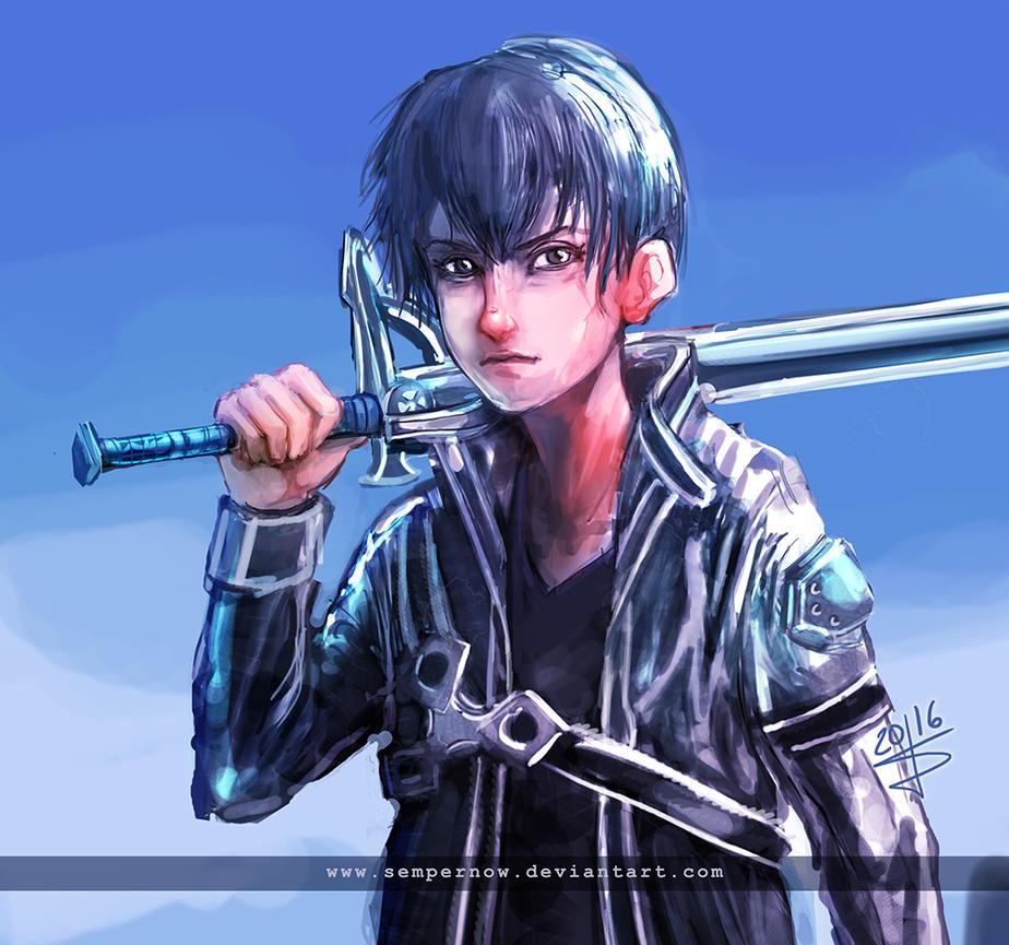 The black Swordsman by sempernow